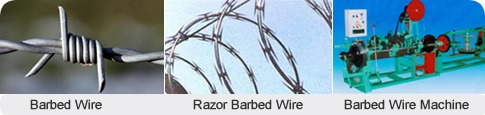 Barbed Wire|Razor Barbed Wire|Barbed Wire Machine