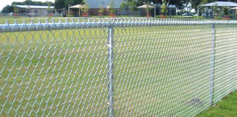 Chain Link Fence, PVC Coated, Galvanized and Aluminized