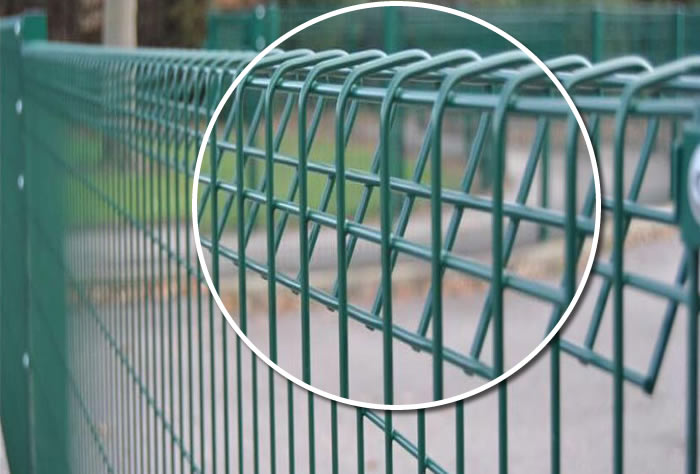 Electro Welded Mesh Border Security Fence