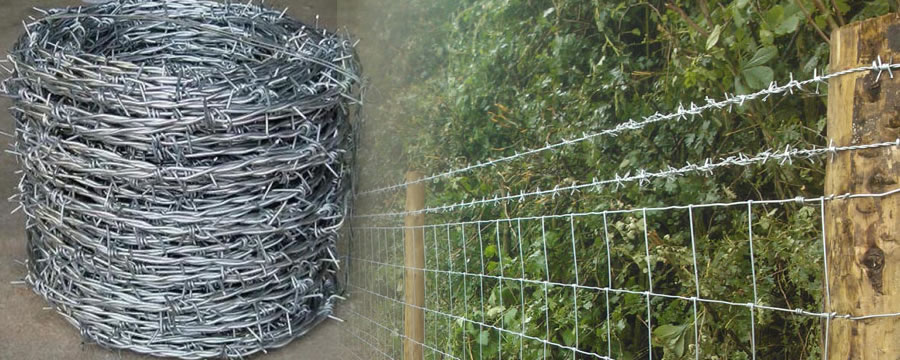 Fencing System Barbed Wire Razor Wire Mesh Panels
